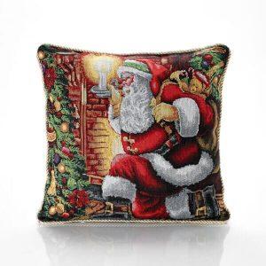 Santa Claus Cushion Cover