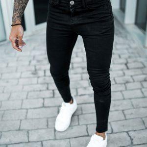 Sinners Attire Non Rip Spray On Jeans Black