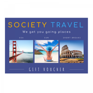 Society Travel Gift Voucher