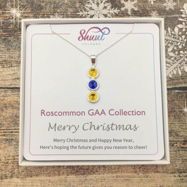 Roscommon GAA Christmas Pendant