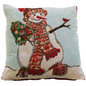 Snowman Cushion Cover