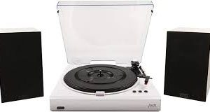 Jam Speed Turntable with Stereo Speakers