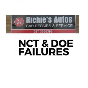 NCT & DOE FAILURE