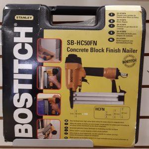 Bostitch Concrete Block Finish Nailer