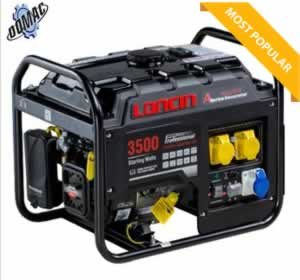 #1 3.5 kva generator on sale at domac hire