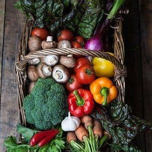 Beechlawn Organic Farm Stir fry veg box