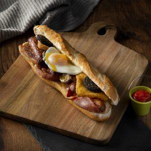 Breakfast roll Corrib Oil Ballinasloe