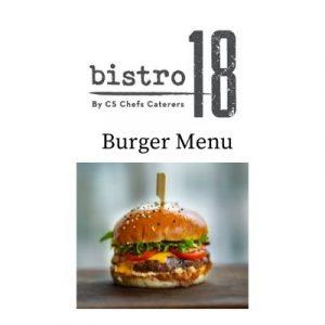 Burger Menu Bistro 18