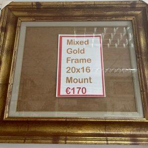 Mixed Gold Frame