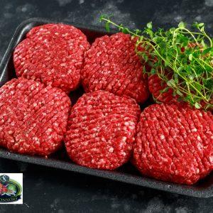 Home-made Burgers O Connors Foodhall Ballonasloe