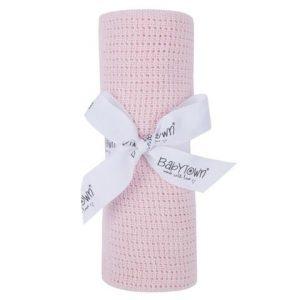 Cellular Blanket pink