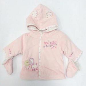Hello Little Bird Baby Girl Jacket