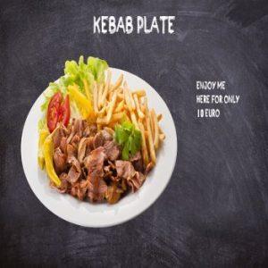 Kebab Plate Bethlehem Ballinasloe