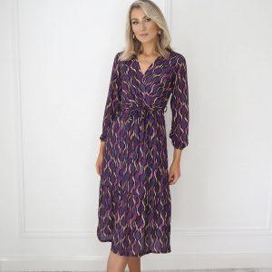 Magenta Kate and Pippa Boho Dress