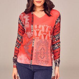 Peruzzi Knitwear Jumper Print