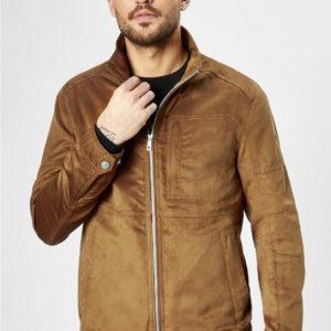 S4 Eco Leather Jacket Tan
